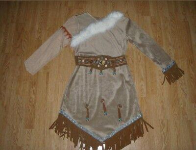 NEW Walt Disney World Parks Pocahontas/Indian Girls Dress/Costume - Size - Walt Disney Costumes