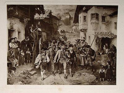Franz Defregger Villanders Tirol Freiheitskämpfer Schützen Kaplan Andreas Hofer
