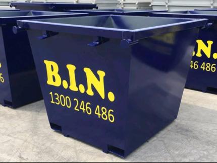 Bin it now! Skip bin hire rubbish removal