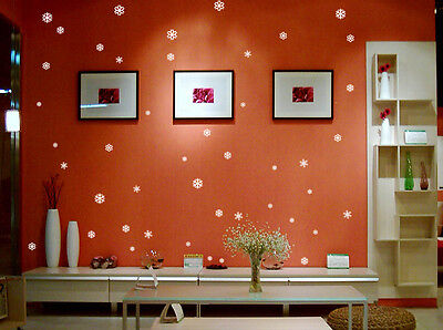 Multi Size Snowflakes Home DIY Wall Window, Decor / Shop Front Stickers/Decal