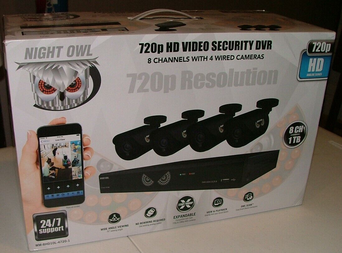 Night Owl 8 Channel 1080 Lite HD Analog Video Security Syste