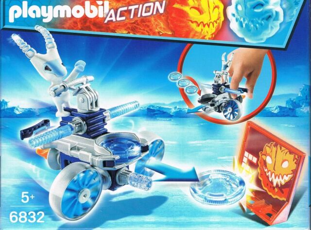 Playmobil 6832 Frosty mit mit Disc-Shooter Sport schießen Gleiter Neu & OvP