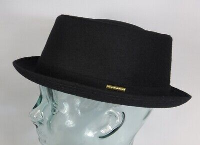 STETSON Athens Wool Pork Pie Hut Porkpie Hat - Porkpie Hut