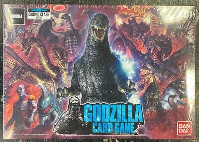 BANDAI CHRONO CLASH GODZILLA CARD GAME FACTORY SEALED BOX
