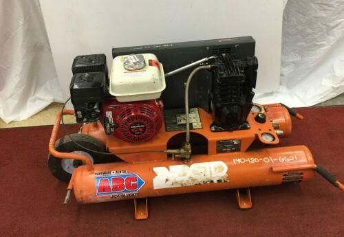 Used RIDGID 9 Gallon Portable Gas Powered Air Compressor Wheelbarrow Commercial!