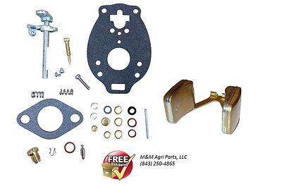 Carburetor Kit Float Ih Farmall 140 200 230 240 330 340 404 424 444 Tractor