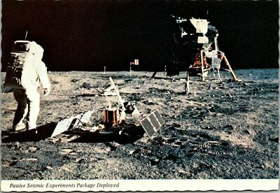 Postcard Apollo 11 Passive Seismic Experiment Package