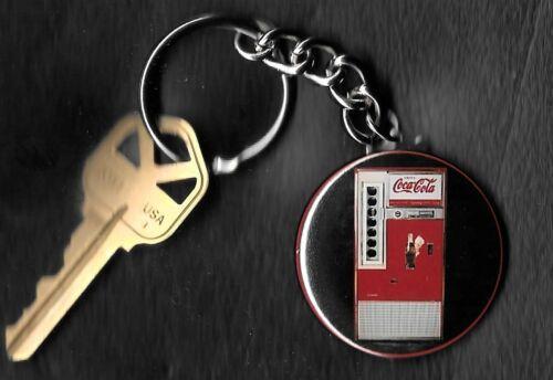 Coca-Cola Machine COKE Keychain Key Chain 1960