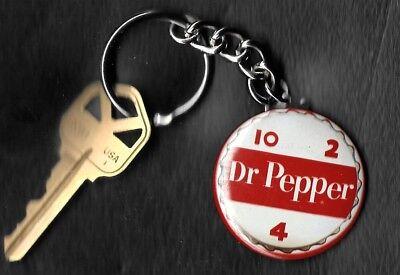 Dr. Pepper Vintage Bottle Cap 10 2 4 Keychain Key Chain