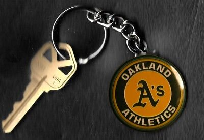 Oakland Athletics Retro LOGO Keychain Key Chain