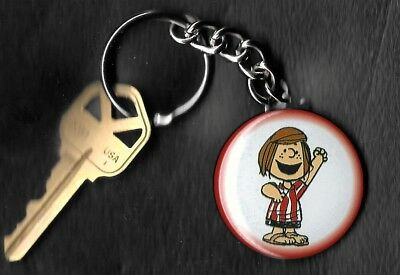 PEPPERMINT PATTY of Peanuts Charlie Brown by Charles Schulz Key Chain KEYCHAIN