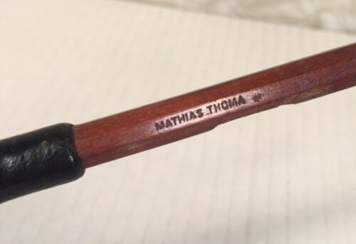 Mathias Thoma Violin Bow Octagonal Shaft Germany Mid-20th Century