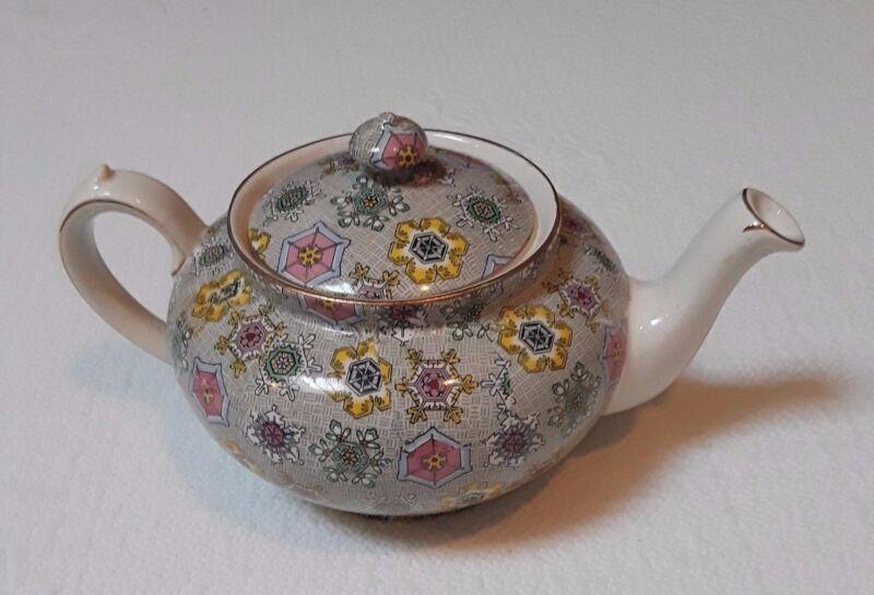 "Vintage LORD NELSON ""Kaleidoscope"" CHINTZ Teapot"