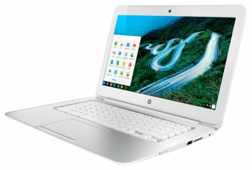 "HP 14 Chromebook 14"" screen with 16GB, Intel Celeron, 1.4GHz, 2GB White"