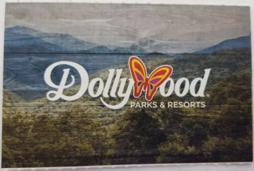 TICKETS TO DOLLYWOOD IN PIGEON FORGE, TN GOOD TIL 1/2/21