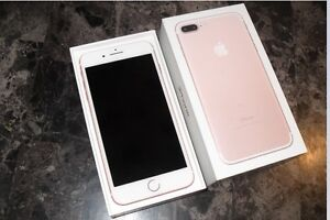 LNIB Rosegold IPhone 7Plus 128gb