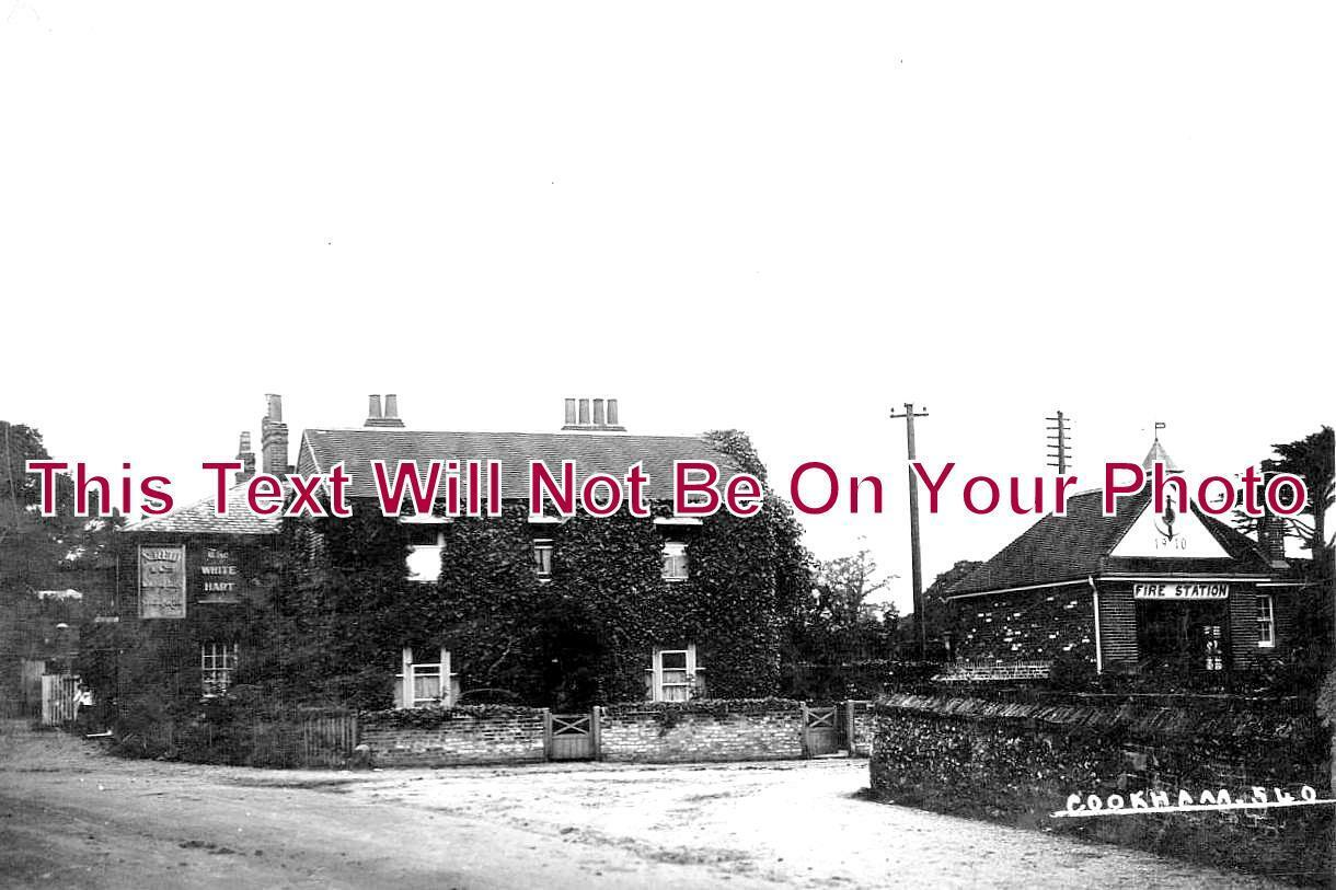 BK 1081 - Fire Station & The White Hart, Terry Lane, Cookham, Berkshire c1912