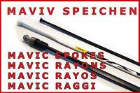 Mavic Raggi Ksyrium, R-sys, Equipe, Aksium, Cosmic, Carbone, Elite, Crossmax -  - ebay.it