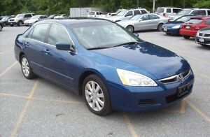 2006 HONDA ACCORD WITH NEW 2 YEARS MVI MINT CONDITION