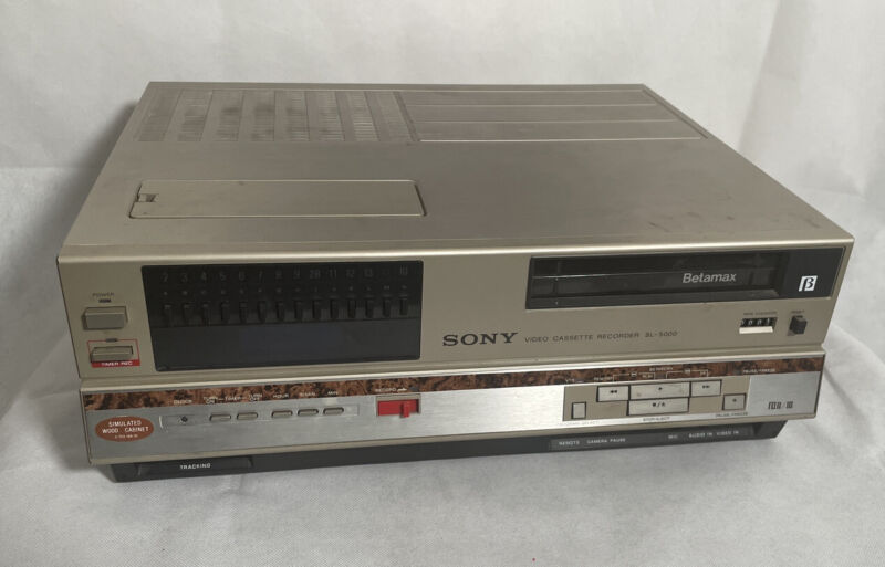 Sony Betamax SL-5000