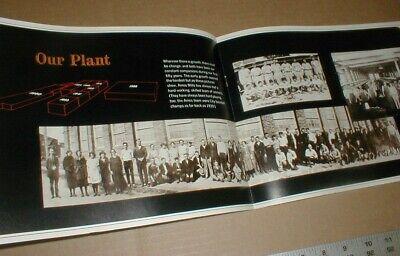 1966 Amos Hosiery Mill Inc Textile vtg 50yr history High Point NC North Carolina