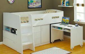 Kids midi single storage bed for sale. Compact space saving design Kensington Melbourne City Preview