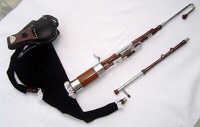 Geoffrey | Irish Half set Uilleann Pipes | bagpipe | 2 reed set, Carry bag | UR6