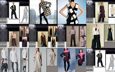 OOP Vogue Sewing Pattern Issey Miyake Designer Misses Outfits You Pick