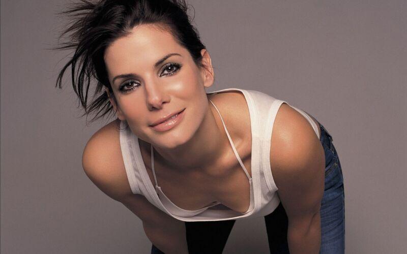 Sandra Bullock Beautiful Face 8x10 Photo Print