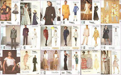 OOP Vogue Designer Oscar De La Renta Sewing Pattern Misses Size You Pick