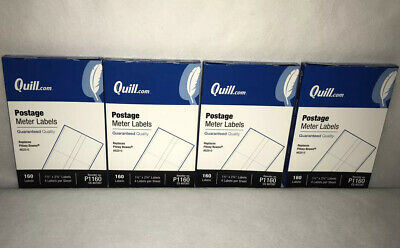 Quill.com Postage Meter Labels Lot 640 Ct. P1160 1.5x 2.75 Pitney Bowes 620-0