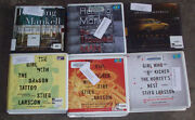 Audio Books CD Lot