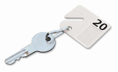Lucky Line 2679020 Key Cabinet Tags with numbers 20 Per Pack