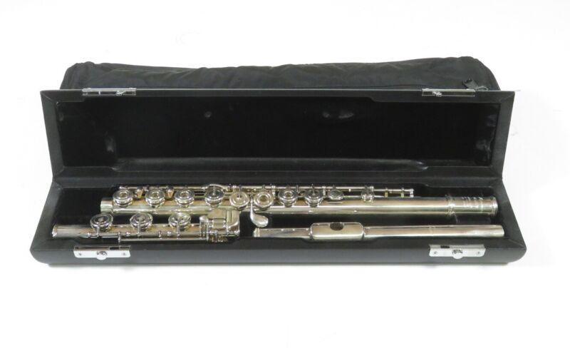 Miyazawa PA-201RH Silver Open-Hole Offset G Professional Flute w/ Case