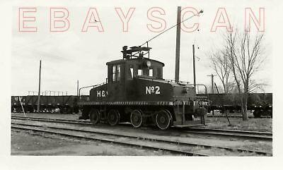 7J350 RP 1953  HUTCHINSON & NORTHERN RAILROAD ENGINE #2  KS