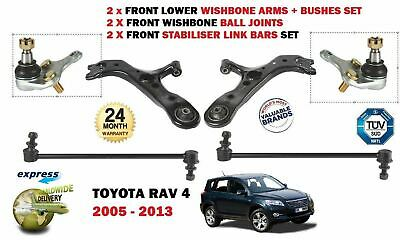 2X LINK BARS FOR TOYOTA VERSO S 2010-/> 2 X FRONT LOWER WISHBONE SUSPENSION ARM