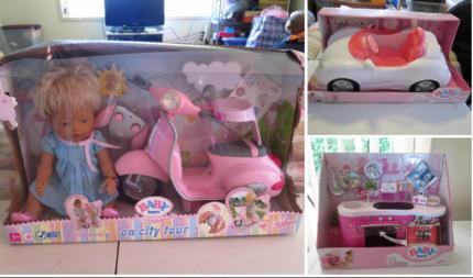 Baby Born Doll/Car/Kitchen Brand NEW