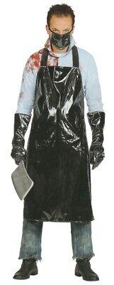 WIM 01522 Horror Fleischer Metzger Koch Grusel Herren Kostüm Halloween - Fleisch Kostüm Halloween