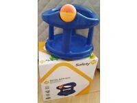 FREE TO COLLECT baby swivel bath seat+ toiletries- bath tub