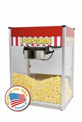 Commercial Theater 16 Oz Popcorn Machine Popper Maker Paragon Classic Pop Clp-16