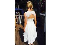 Custom-made Wedding Dress - size 10 (ish)
