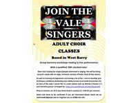 NEW CHOIR COMING TO BARRY DOING POP, INDIE, ROCK VOCALS WITH A TWIST
