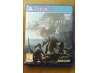 Monster Hunter World PlayStation 4 PS4