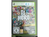 DJ Hero Xbox 360 Game