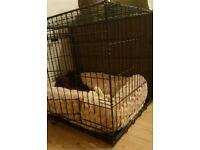 "Ellie-bo 30"" black dog cage"