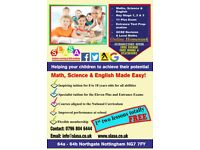 Tuition Near Nottingham - Excellent Tutoring in Maths, Science & English, SATs, GCSE, Entry Test