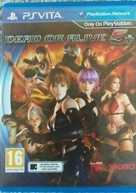 PS Vita D.O.A 5+