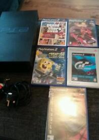 Ps2 with 5 games