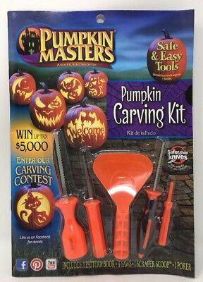 Pumpkin Masters Pumpkin Carving Kit - Safe & Easy Tools](Halloween Easy Pumpkin Carvings)