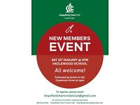 Limpsfield Chart Cricket Club: New Members Wanted!